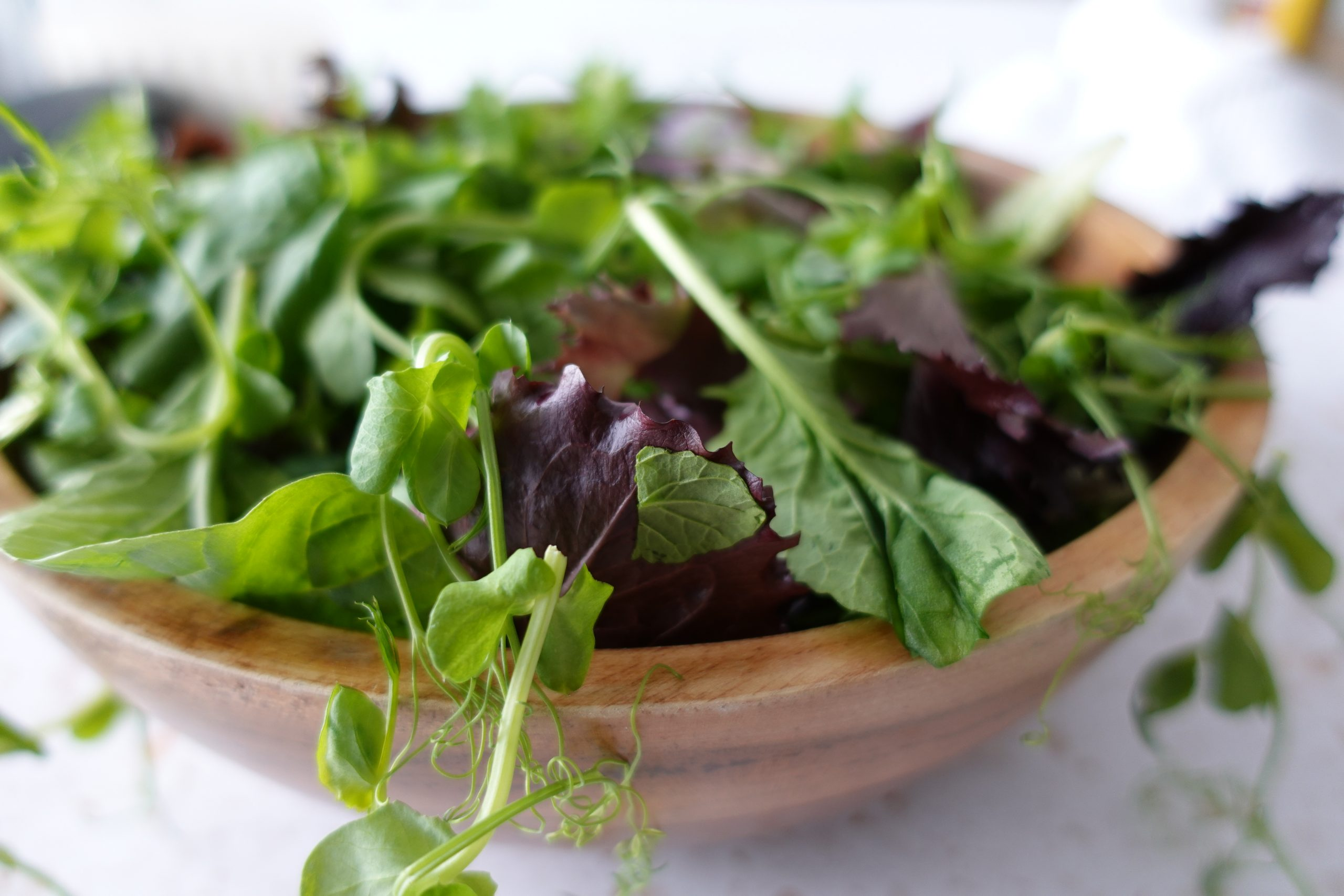 mixed leaf beetroot and blue cheesesalad